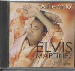 Martinez, Elvis - Asi Te Amo CD Cover Art