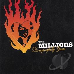 Millions - Disrespectfully Yours CD Cover Art