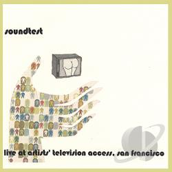 Sound Test - Live At Artists' Television Access San Francisco CD Cover Art
