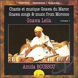 Boussou, Amida - Gnawa Leila CD Cover Art