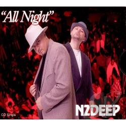 N2DEEP - All Night CD Cover Art