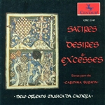 New Orleans Musica Da Camera - Satires, Desires & Excesses CD Cover Art
