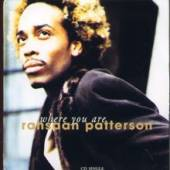 Patterson, Rahsaan - Where You Are DS Cover Art