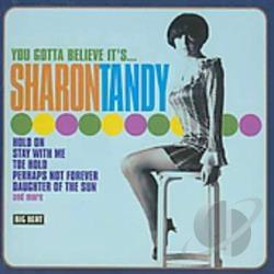 Tandy, Sharon - You Gotta Believe It's... CD Cover Art