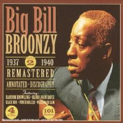 Broonzy, Big Bill - 1937 - 1940, Vol. 2 CD Cover Art