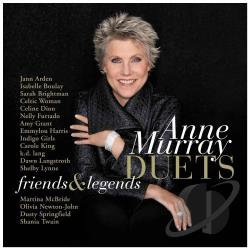 Murray, Anne - Duets: Friends and Legends CD Cover Art