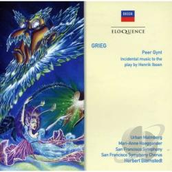 Blomstedt / Grieg / San Francisco Sym Orch - Grieg: Peer Gynt CD Cover Art
