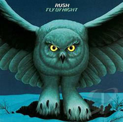 Rush - Fly by Night CD Cover Art