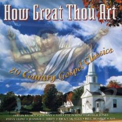 West, Christopher - How Great Thou Art: Gospel Classics CD Cover Art
