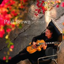 Brown, Paul - Up Front CD Cover Art