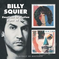 Squier, Billy - Emotions in Motion/Signs of Life CD Cover Art