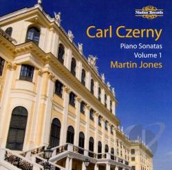 Jones, Martin: pno - Carl Czerny: Piano Sonatas, Vol. 1 CD Cover Art