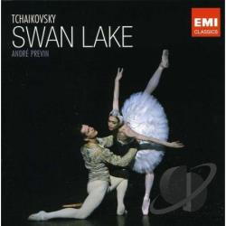 Tchaikovsky: Swan Lake CD Cover Art