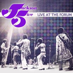 Jackson 5 - Live at the Forum CD Cover Art
