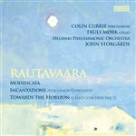 Helsinki Philharmonic Orch / Rautavaara - Rautavaara: Modificata; Incantations; Toward the Horizon CD Cover Art