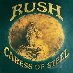 Rush - Caress of Steel CD Cover Art