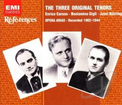 Bjorling / Caruso / Gigli - Original Three Tenors Box Setvarious CD Cover Art
