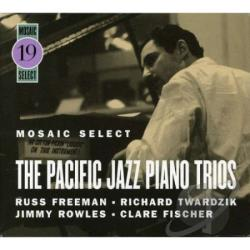 Freeman, Russ - Mosaic Select - Russ Freeman/Pacific Jazz Piano Trios CD Cover Art