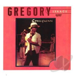 Isaacs, Gregory - Consequence CD Cover Art