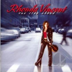 Vincent, Rhonda - One Step Ahead CD Cover Art