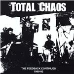 Total Chaos - Feedback Continues 1990-1992 CD Cover Art