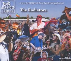 Radiators - Jazz Fest 2008 CD Cover Art