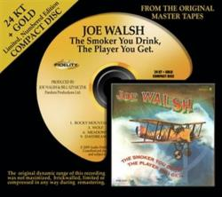 Walsh, Joe - Smoker You Drink, the Player You Get CD Cover Art