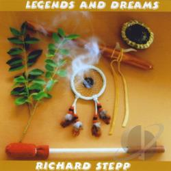 Stepp, Richard - Legends and Dreams CD Cover Art