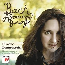 Bach / Dinnerstein, Simone - Bach: A Strange Beauty CD Cover Art