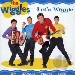 Wiggles - Let's Wiggle CD Cover Art