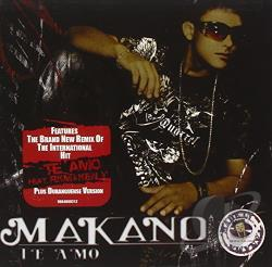 Makano - Te Amo CD Cover Art