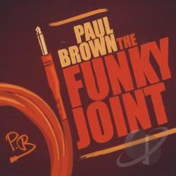Brown, Paul - Funky Joint CD Cover Art