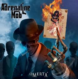 Adrenaline Mob - Omerta CD Cover Art
