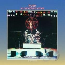 Rush - All the World's a Stage CD Cover Art