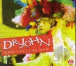 Dr. John - New Orleans Man CD Cover Art