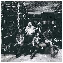 Allman Brothers Band - Live At Fillmore East LP Cover Art