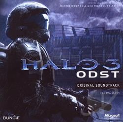 O'Donnell, Martin / Salvatori, Michael - Halo 3: ODST CD Cover Art