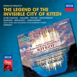 Gorchakov / Marusin / Okhotnikov / Rimsky-Korsakov - Rimsky-Korsakov: The Legend of the Invisible City of Kitezh CD Cover Art