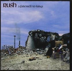 Rush - Farewell to Kings CD Cover Art