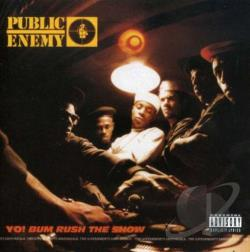 Public Enemy - Yo! Bum Rush the Show CD Cover Art