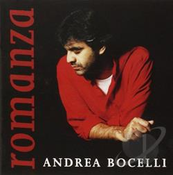 Bocelli, Andrea - Romanza CD Cover Art