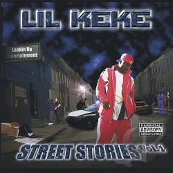 Lil' KeKe - Street Stories CD Cover Art