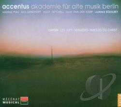 Equilbey / Getchell / Haydn / Piau / Sandhoff - Haydn: Les Sept Dernieres paroles du Christ CD Cover Art