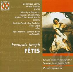 Cornil, Domenique - Francois-Joseph Fetis: Grand Sextuor; Sonates CD Cover Art