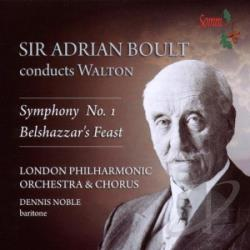London Philharmonic Orchestra - William Walton: Symphony No. 1; Belshazzar's Feast CD Cover Art