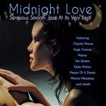 Midnight Love: Sensuous Smooth Jazz at Its Very Best CD Cover Art