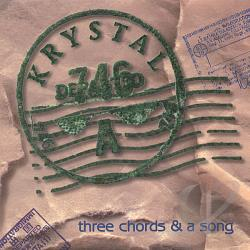 Krystal - 3 Chords & A Song CD Cover Art