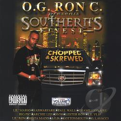 OG Ron C / Various Artists - O.G. Ron C. Of Swishahouse Presents Southern's Finest CD Cover Art