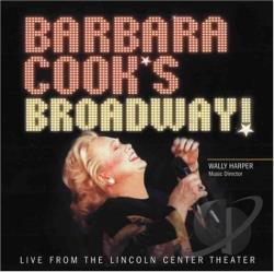 Cook, Barbara - Barbara Cook's Broadway! CD Cover Art