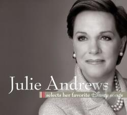Andrews, Julie - Julie Andrews Selects Her Favorite Disney Songs CD Cover Art